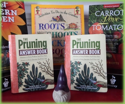 We have a nice selection of gardening books.