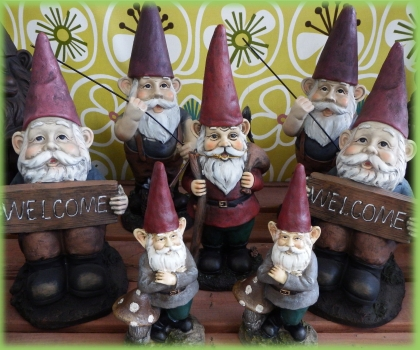 Check out our selection of gnomes.